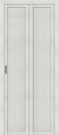 """Складная дверь """"Твигги М1"""", пг, Bianco veralinga"""