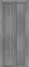 """Складная дверь """"Твигги М1"""", пг, Grey veralinga"""