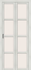 """Складная дверь """"Твигги V4"""", по, Bianco veralinga"""