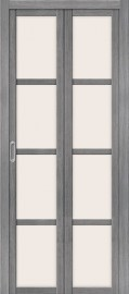 """Складная дверь """"Твигги V4"""", по, Grey veralinga"""