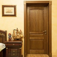 Двери цвета Дуб натуральный