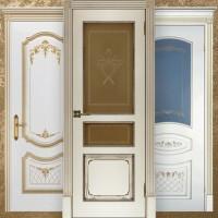 Двери эмаль с патиной