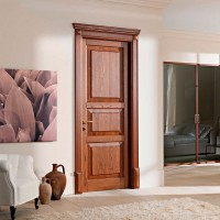 Двери цвета Каштан