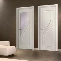 Двери шпон белые