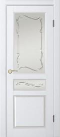 """Межкомнатная дверь """"Джулия 1"""", по, Белый жемчуг"""