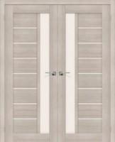 Фото -   Двойная распашная дверь Порта-27 Cappuccino Veralinga     фото в интерьере