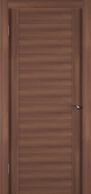 Фото -   Межкомнатная дверь Zadoor ПГ ECO 1 Орех     фото в интерьере