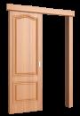"""Межкомнатная дверь """"Палитра"""", пг, миланский орех"""