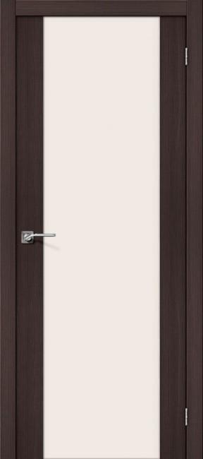 """Фото -   Межкомнатная дверь """"Порта-13"""", по, Wenge Veralinga     фото в интерьере"""