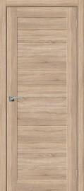 """Межкомнатная дверь """"Порта-21"""", пг,  Light Sonoma"""
