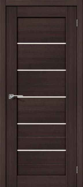 """Фото -   Межкомнатная дверь """"Порта-22"""", по, Wenge Veralinga     фото в интерьере"""