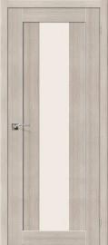 """Межкомнатная дверь """"Порта-25 alu"""", по, Cappuccino Veralinga"""
