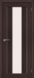 """Межкомнатная дверь """"Порта-25 alu"""", по, Wenge Veralinga"""