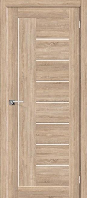 """Фото -   Межкомнатная дверь """"Порта-29"""", по,  Light Sonoma     фото в интерьере"""