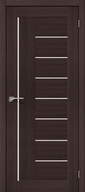 """Фото -   Межкомнатная дверь """"Порта-29"""", по, Wenge Veralinga     фото в интерьере"""