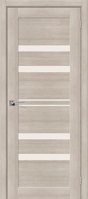 """Фото -   Межкомнатная дверь """"Порта-30"""", по, Cappuccino Veralinga     фото в интерьере"""