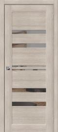 """Межкомнатная дверь """"Порта-30"""", Mirox Grey, Cappuccino Veralinga"""