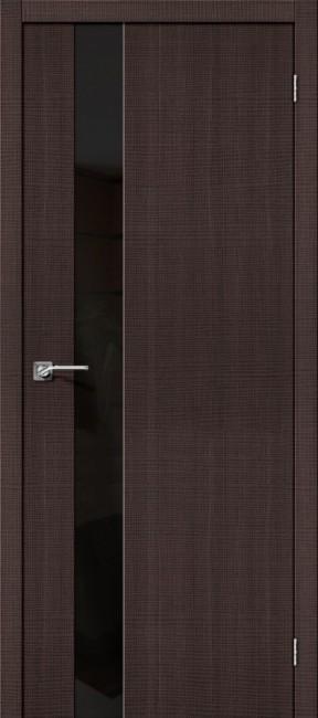 """Фото -   Межкомнатная дверь """"Порта-51 BS"""", по, Wenge Crosscut     фото в интерьере"""