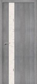 """Фото -   Межкомнатная дверь """"Порта-51"""", по, Grey Crosscut     фото в интерьере"""