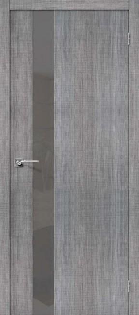 """Фото -   Межкомнатная дверь """"Порта-51 S"""", по, Grey Crosscut     фото в интерьере"""