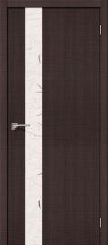 """Фото -   Межкомнатная дверь """"Порта-51"""", по, Wenge Crosscut     фото в интерьере"""