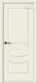 "Межкомнатная дверь ""Элина"", пг, жемчуг"