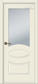 """Межкомнатная дверь """"Элина"""", по, жемчуг"""