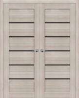 Фото -   Двойная распашная дверь Порта-22 BS Cappuccino Veralinga     фото в интерьере