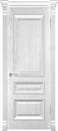 "Межкомнатная дверь ""Фараон 2"", пг, дуб белая эмаль"