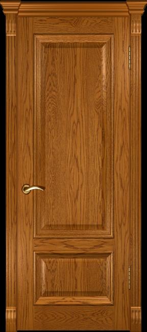 """Фото -   Межкомнатная дверь """"Фараон 1"""", пг, дуб золотистый     фото в интерьере"""