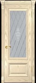 """Межкомнатная дверь """"Фараон 1"""", по, слоновая кость"""