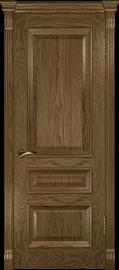 """Межкомнатная дверь """"Фараон 2"""", пг, мореный дуб светлый"""
