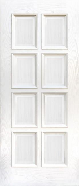 """Фото -   Межкомнатная дверь """"Финестра"""", пг, карамельный ясень     фото в интерьере"""