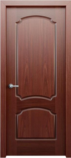 Фото -   Межкомнатная дверь Фламенко, пг, красное дерево   | фото в интерьере
