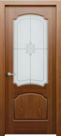 Межкомнатная дверь Фламенко, по, орех