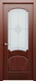 Межкомнатная дверь Фламенко, по, красное дерево