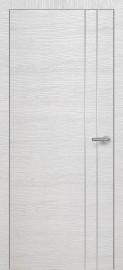Фото -   Межкомнатная дверь Zadoor ПО H15 Окаша Сильвер   | фото в интерьере