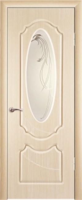 """Межкомнатная дверь """"Венеция"""", по, беленый дуб"""