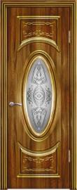 """Межкомнатная дверь """"Гармония"""", по, орех седой светлый"""
