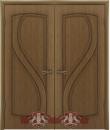 """Межкомнатная дверь """"Грация"""", пг, орех"""