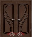 """Межкомнатная дверь """"Грация"""", пг, венге"""