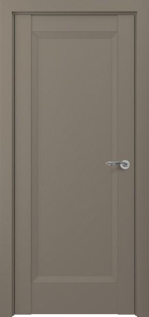 Фото -   Межкомнатная дверь Zadoor ПГ Неаполь тип-N матовый графит   | фото в интерьере