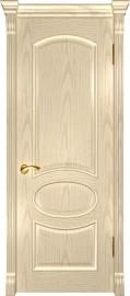 """Межкомнатная дверь """"Грация"""", пг, слоновая кость"""