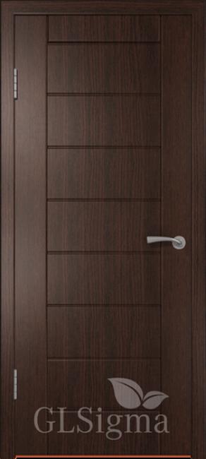 """Межкомнатная дверь """"Сигма 11"""", пг, венге"""