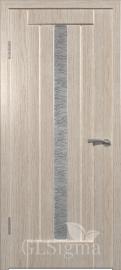 """Межкомнатная дверь """"Сигма 2"""", по, беленый дуб"""