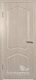 """Межкомнатная дверь """"Сигма 3"""", пг, беленый дуб"""