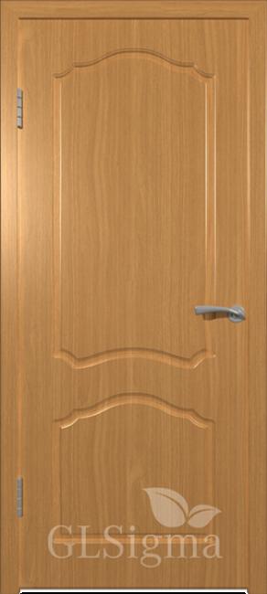 """Фото -   Межкомнатная дверь """"Сигма 3"""", пг, миланский орех     фото в интерьере"""