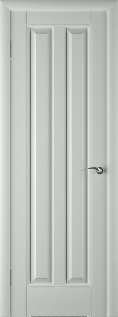Фото -   Межкомнатная дверь ПГ Премьер Грей Эмаль     фото в интерьере