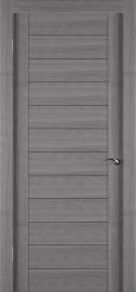 Фото -   Межкомнатная дверь Zadoor ПГ ECO 1 Грей   | фото в интерьере