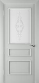 Межкомнатная дверь ПО Алессандро Грей Эмаль